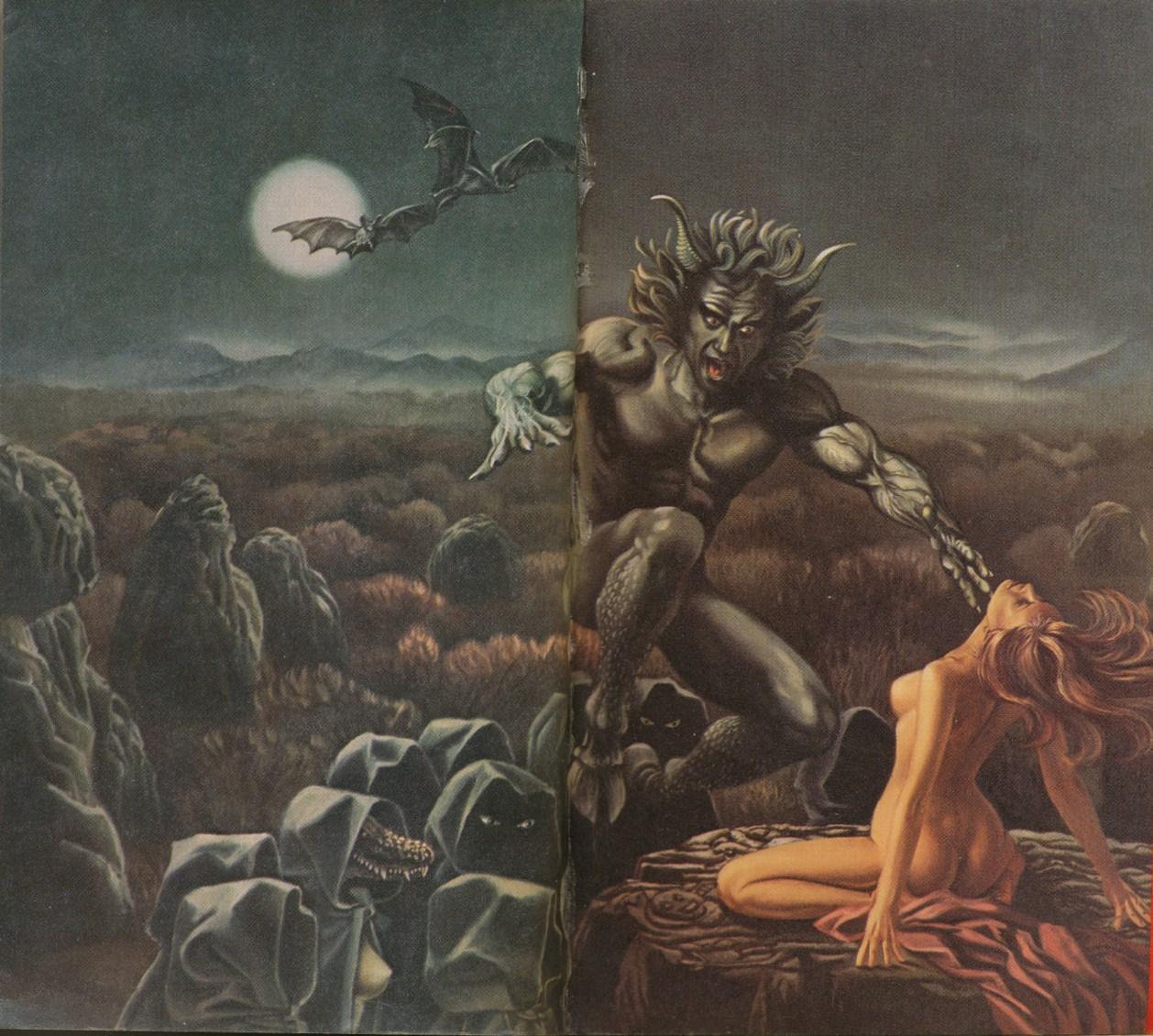 Rowena Morrill vintage cover art