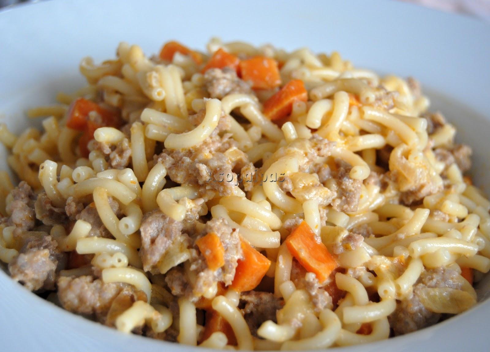 Gramigna emiliana receta asopaipas recetas de cocina for Recetas cocina casera