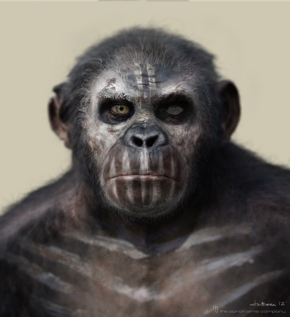 Arte Conceitual - O Planeta dos Macacos