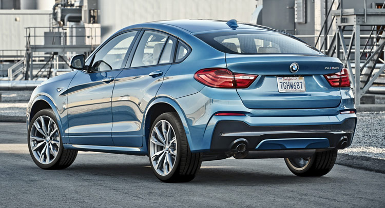 New BMW X4 M40i On Sale Next February; Likely Has Same Engine As M2 ...