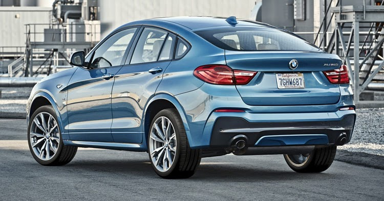 new bmw x4 m40i on sale next february likely has same engine as m2 90 pics. Black Bedroom Furniture Sets. Home Design Ideas