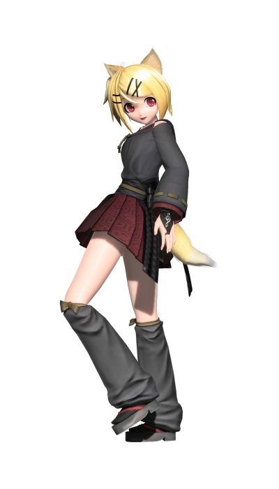 The gallery for rin kagamine meltdown project diva - Kagamine rin project diva ...
