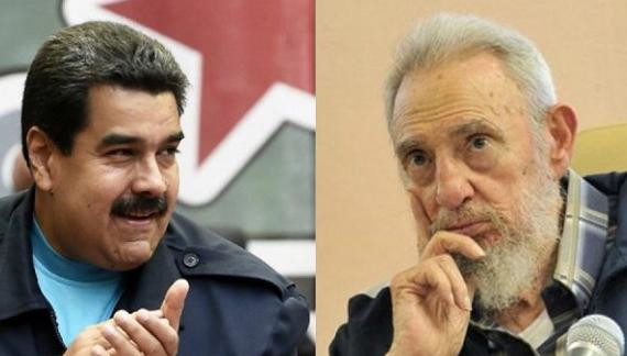 Mensaje de Fidel Castro al Presidente Nicolás Maduro