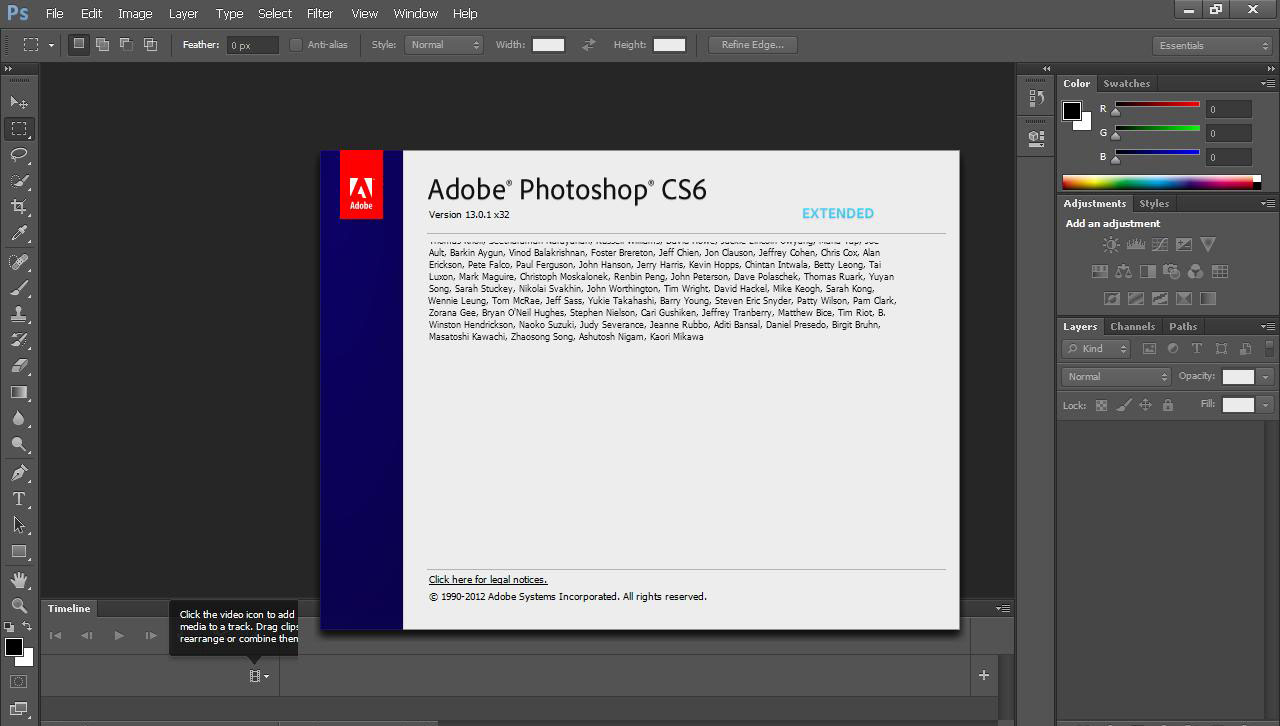 Bang sol adobe photoshop cs6 portable edition for Ptable solid 2013 rar password