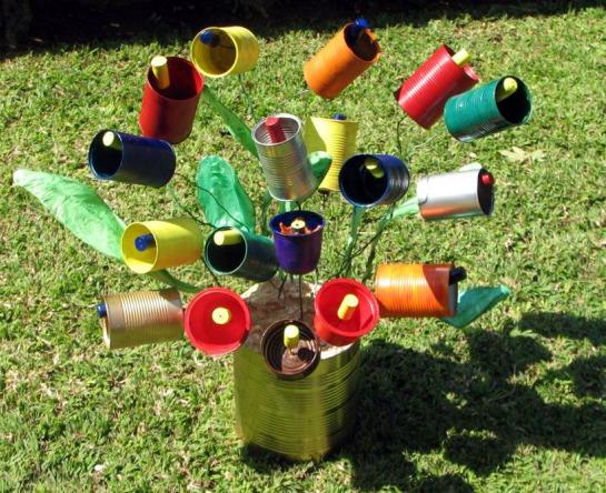 Actividades creativas en Recicla Inventa
