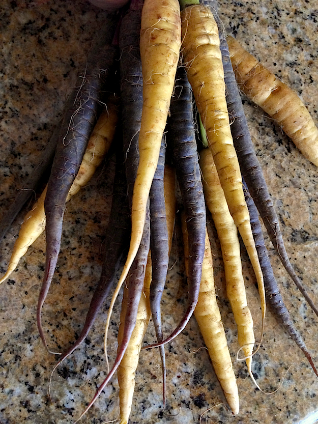 Roasted Spiced Rainbow Carrots Recipe