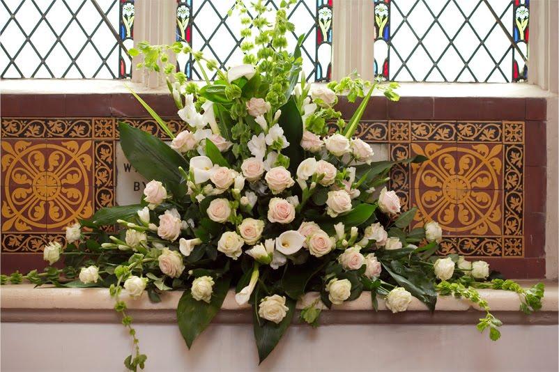 decorazioni altare chiesa, matrimonio simply-chic
