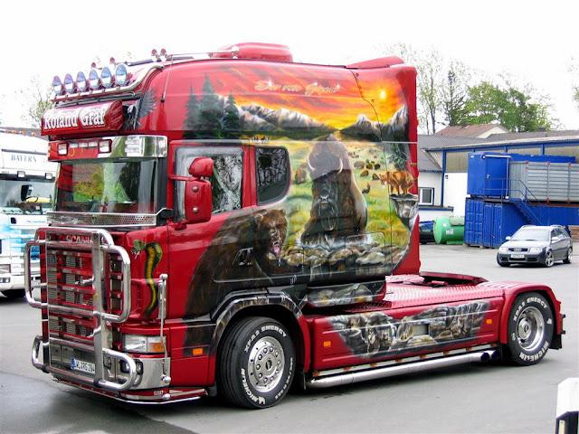 videos+de+camiones+scania+longline+pintado