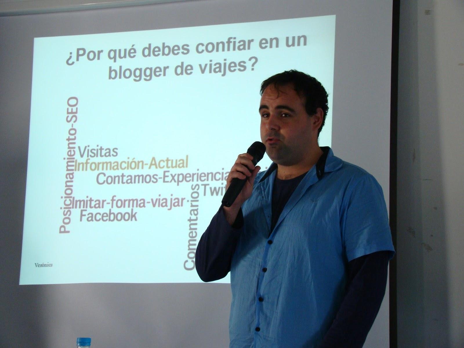 Ponencia: Blogtrip la mejor manera de promocionar un destino turístico