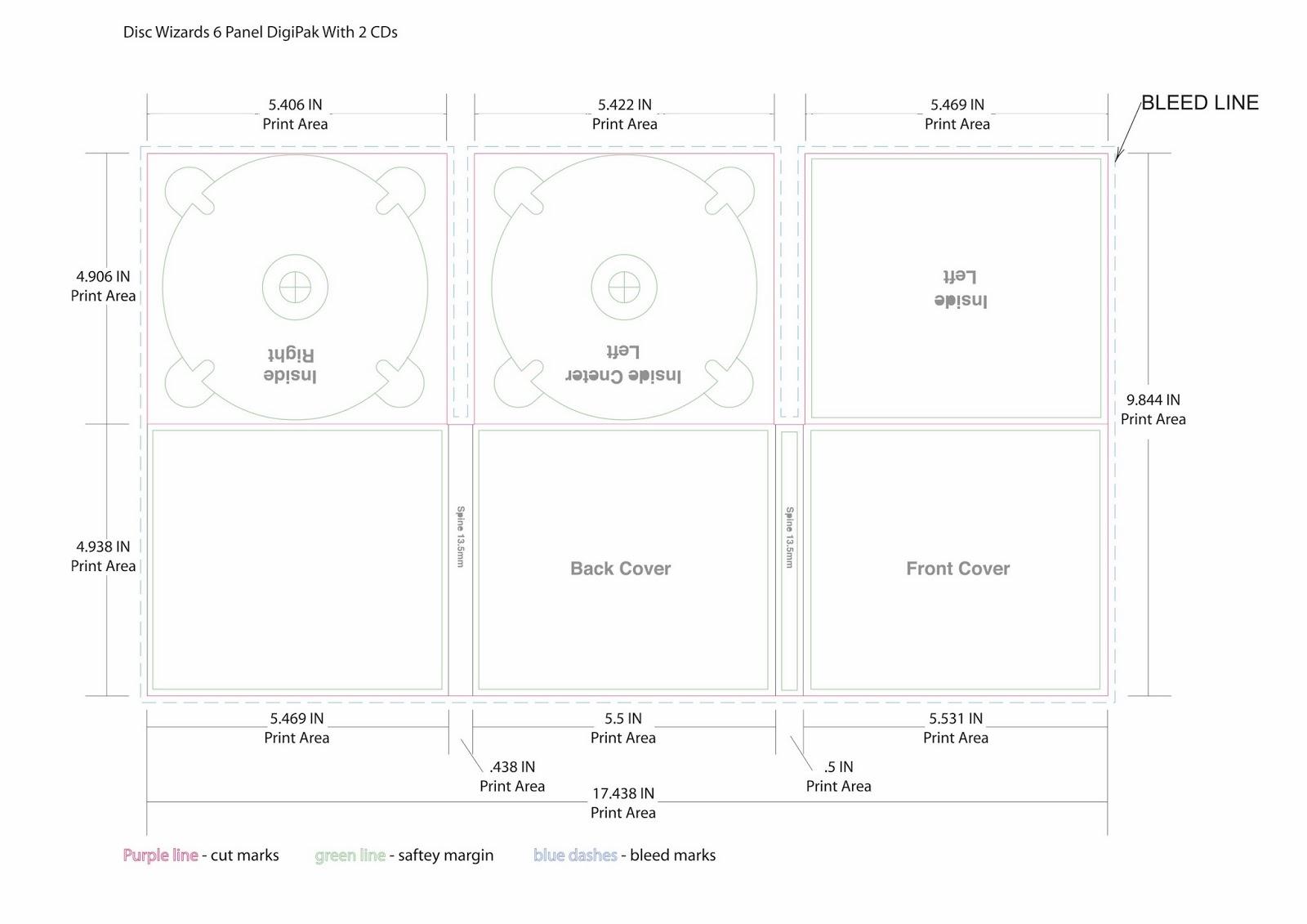 a2 media digipak template. Black Bedroom Furniture Sets. Home Design Ideas