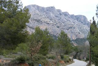 Montagne Sainte-Victoire Cezanne's favorite object