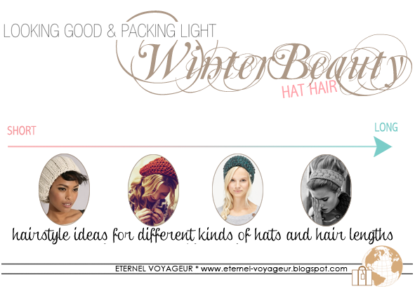 Hat hair styling essentials packing guide