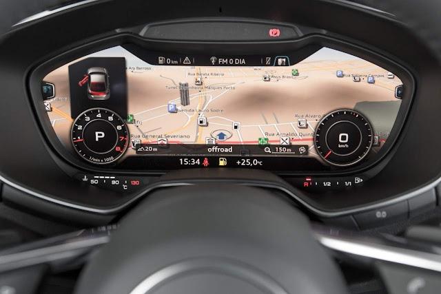 Novo Audi TT 2015 - painel