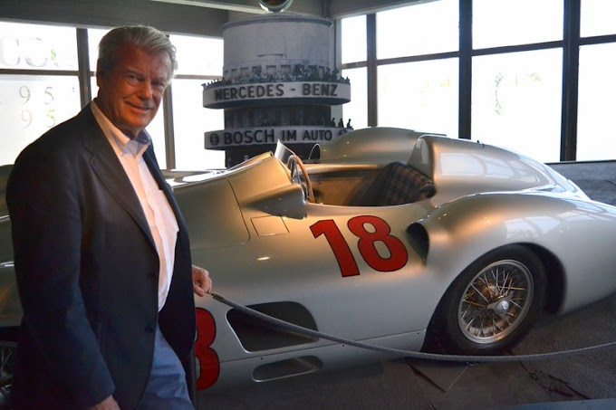 """Roland D'Ieteren, el noble que estuvo en el Museo del Automovilismo """"Juan M. Fangio"""""""