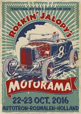 Rockin' Jalopy's Motorama 2016