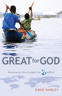 Great for God is a collection of concise life-summaries of 23 missionaries that have influenced, molded and shaped the next generation.