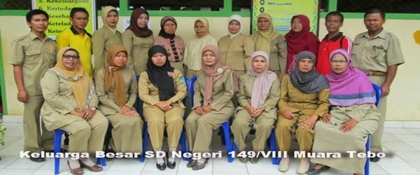 Para Pendidik SD Negeri 149/VIII Muara Tebo