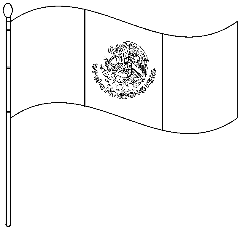 Bandera Nacional Para Colorear Related Keywords & Suggestions ...