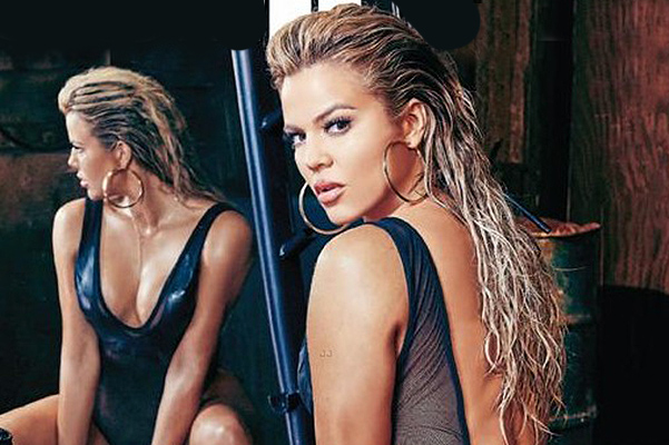 The most daring photo shoot: Khloe Kardashian starred for Complex magazine