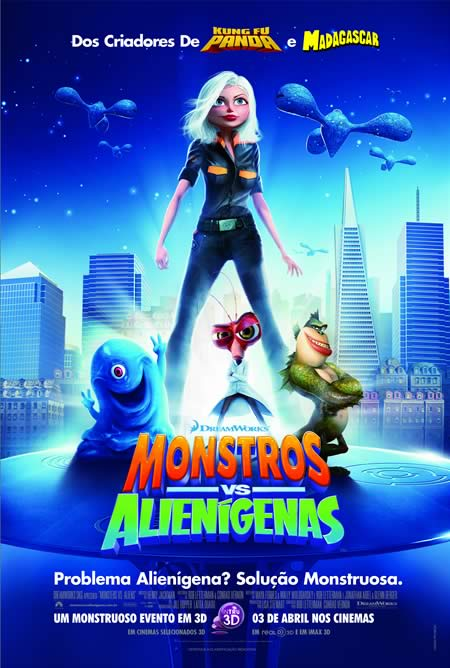 Monstros vs. Alienígenas Dublado