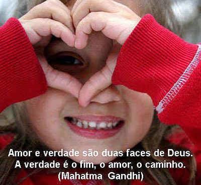 Amor é o caminho para o céu