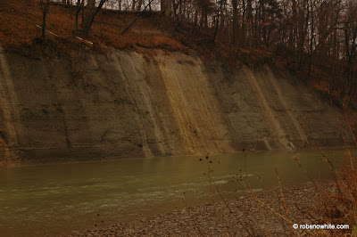 chagrin river wall
