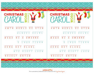 Free Printable:Christmas Word Games | Free Download Cute Printables ...