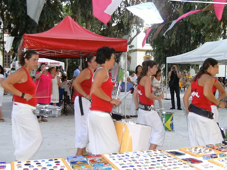 Mercado Artesanal de Arte Nativa en los Jardines de Diputación de Málaga