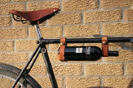Porta-botellas para la bici