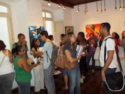 Exposição Coletiva de Artes Visuais  com Fátima Soar e Marlene Martins, Galeria de Arte do IMUCSAL