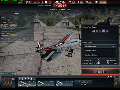War Thunder - Game Type
