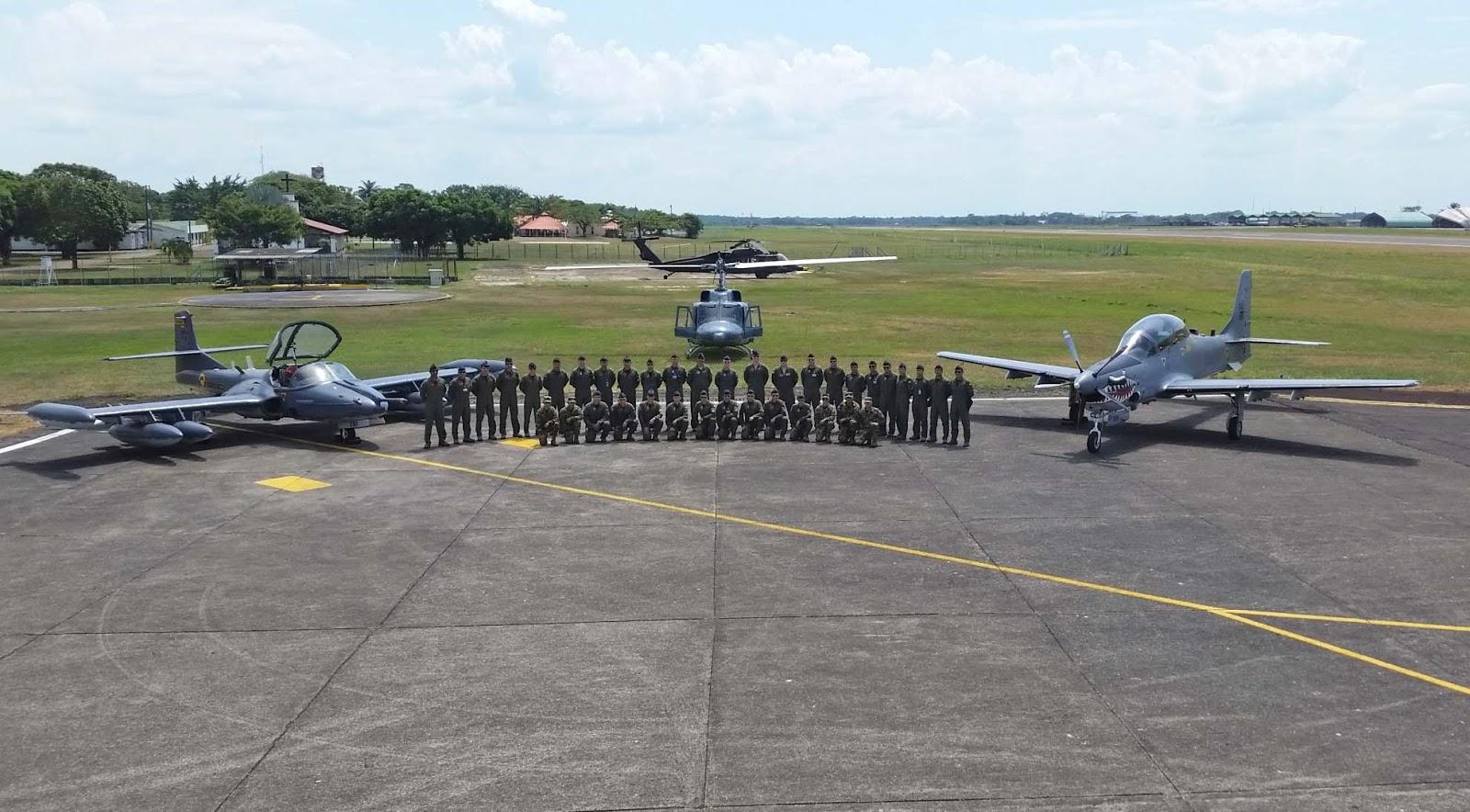Los pilotos de la Fuerza Aérea Colombiana se entrenan en la Base Aérea de Apiay para perfeccionar los protocolos internacionales de la OTAN.