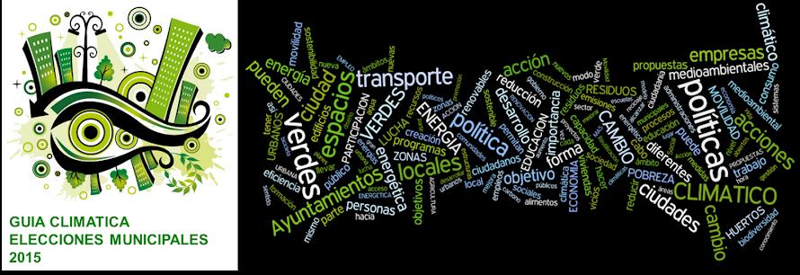 Guia Climática Eleccciones Municipales 2015