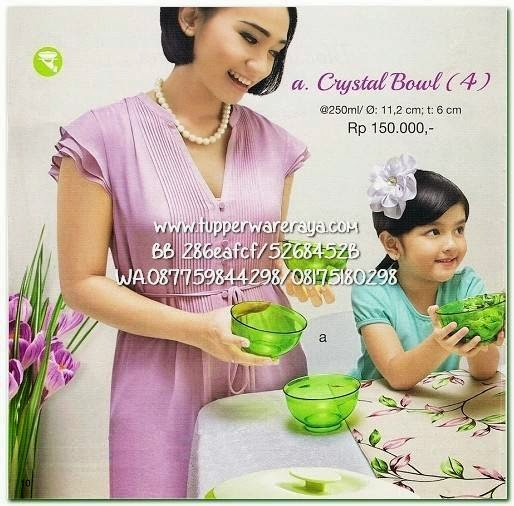 Tupperware Promo April 2015 Crystal Bowl