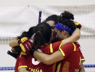 HOCKEY PATINES - España luchará este sábado contra Portugal por el título en el Europeo femenino de Matera (Italia)