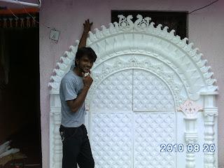 Craft Ideas  Thermocol on Thermocol Art   Pankaj Hiware Nagpur  July 2011