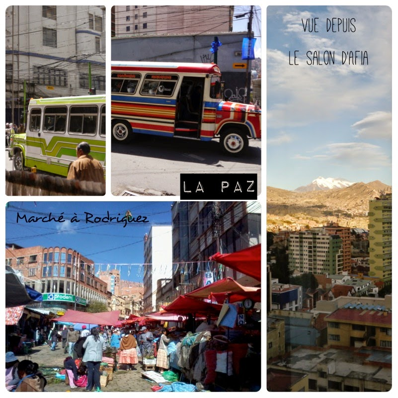 La Paz vu par caroline, ma voyageuse