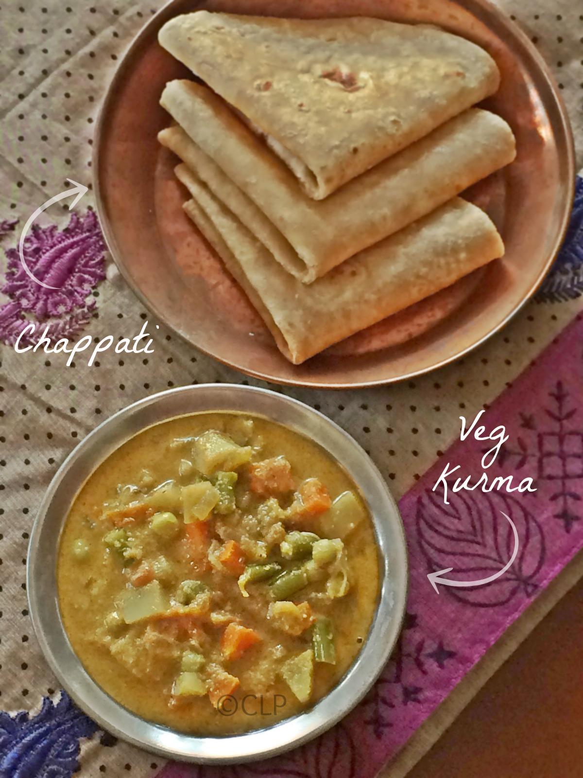 Restaurant Style Vegetable Kurma