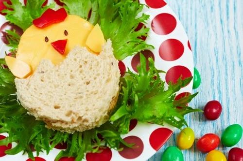 ide makanan lucu untuk anak susah makan ~ makanan berbentuk anak ayam