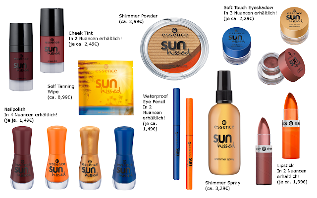 Preview essence Sun Kissed - Trend Edition (LE) - März 2013
