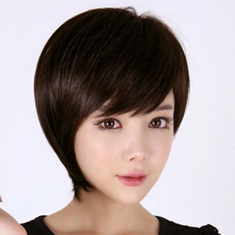 model kuncir rambut pendek