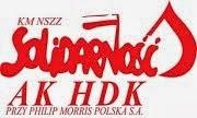 """AK HDK KM NSZZ """"Solidarność"""" przy Philip Morris Polska S.A."""