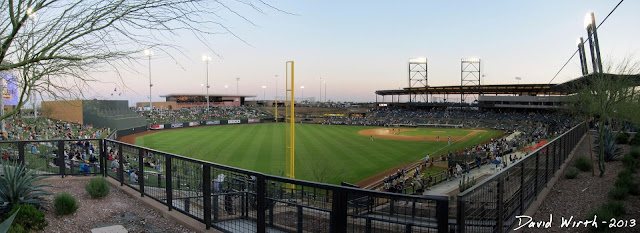 best seats for diamondbacks spring training baseball game