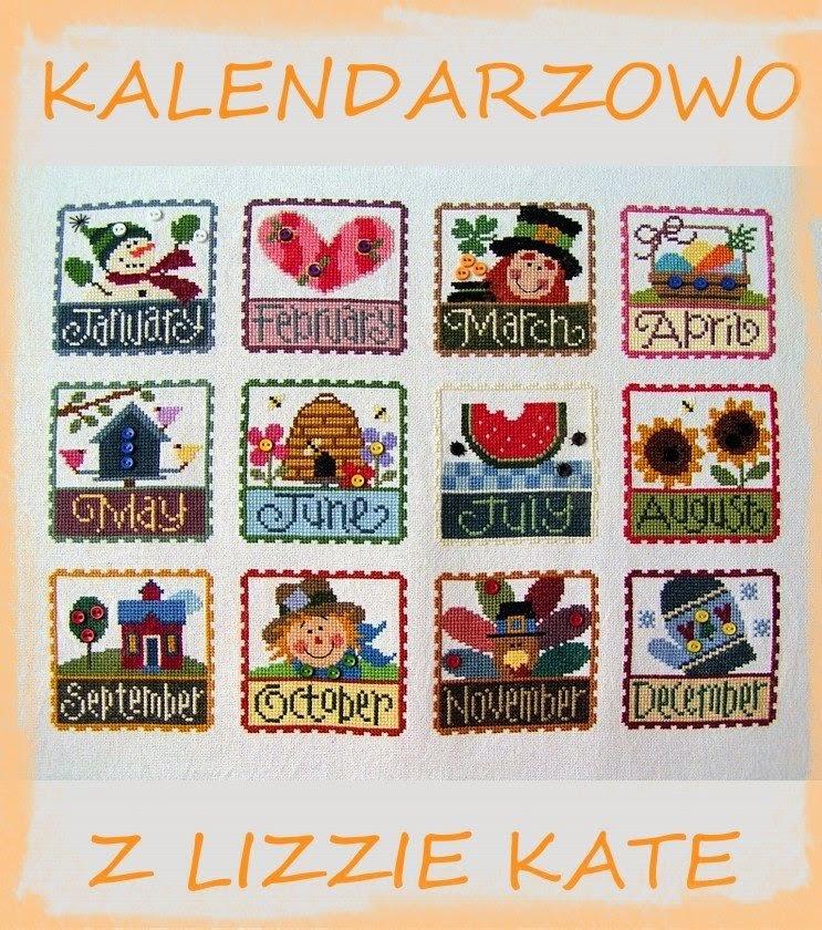 Kalendarzowo z Lizyy Kate