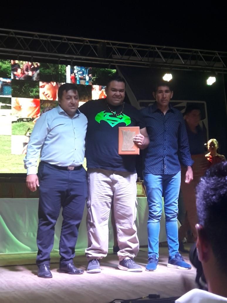Gabriel Taquias del Plumerillo F.C, Jugador destacado Futbol Seniors 2018