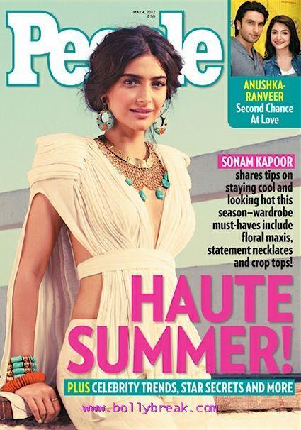 , Sonam Kapoor People Magazine May 2012 Scan