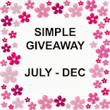 Simple Giveaway july - Dec
