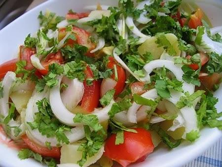 Летние салаты рецепты и фото