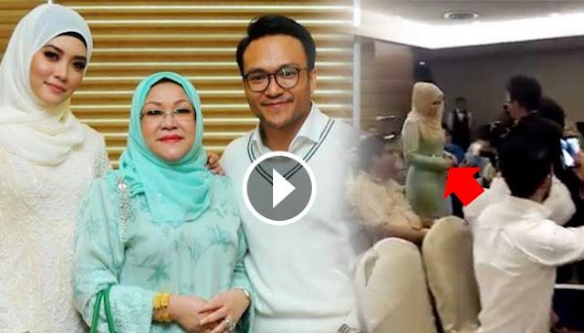 Wanita tersilap masuk majlis pengumuman perkahwinan Shaheizy Sam