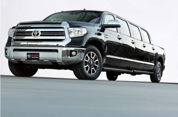 Memperkenalkan Toyota Tundrasine, Toyota pikap limosin